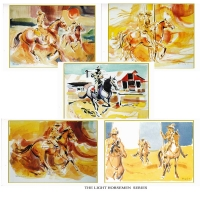 The Light Horsemen Greeting Cards