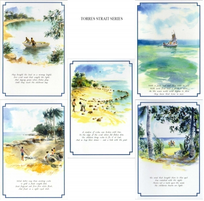 The Torres Strait Islands Greeting Cards