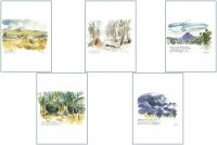 Australian Landscapes Series Greeting Cards